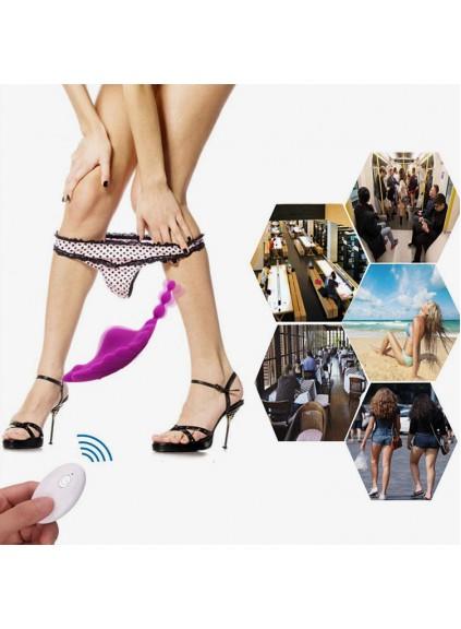 Wireless Remote Control Clitoral Stimulation Wearable Panty Vibrator