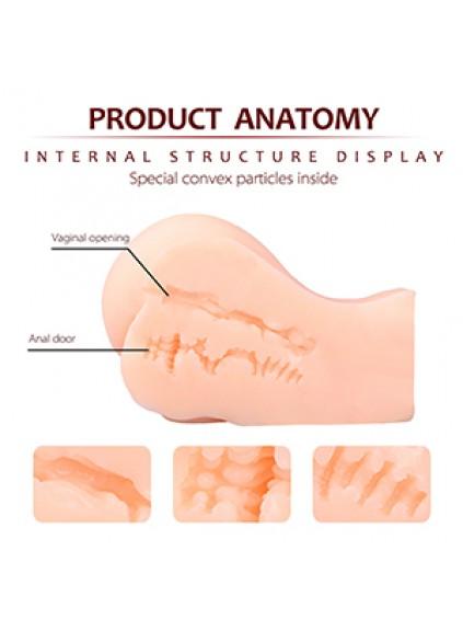 pink deep life size vagina realistic sex toys masturbators for men asian sex toys