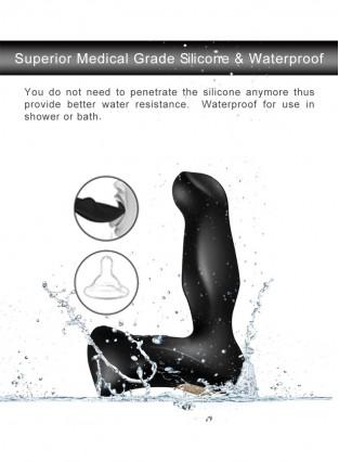 Male prostate massager multi-frequency remote control vestibular vibrator vibrates anal plug male prostate orgasm