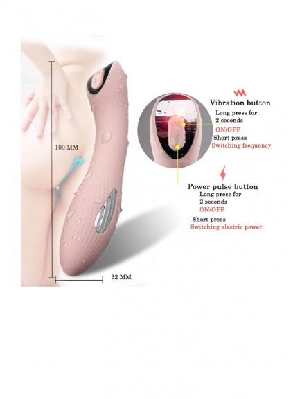 USB Rechargeable Waterproof Massaging Wand Vibrator Vibrantion Clitorials Simulator Dildo Sex Toys Stimulation for Women Clitoral Vibrator