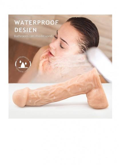 Adult Massaging Waterproof Women's Dildo Toys for Woman clitorals  vaginal Vibration Tools g spot Lifelike Dicks Wand Handheld clit vibrator Sex Toys