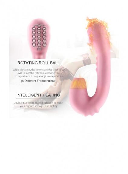 Woman Multi Frequencies G Spot Vibrators & Nipple Clitorials ,Sex Pleasure Toy  Thrusting Sucking Vibrator , Stimulator with Suction ClitOral Sucking Vibrator