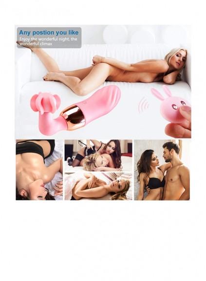 G Spot Rabbit Vibrator for Woman,Waterproof vibrator Rabbit Bunny Ears With Vibrator Clit