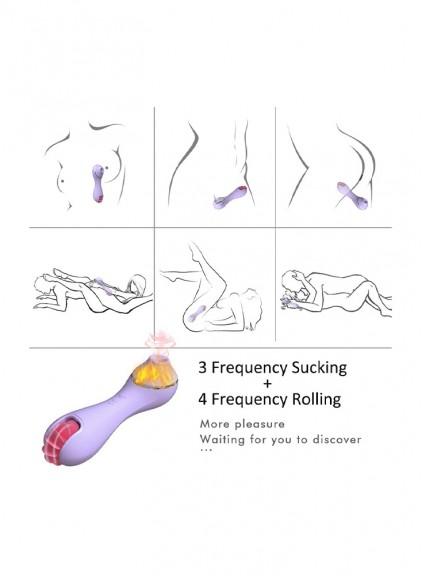 Licking Stimulation Toys big Female Sucking Sex Toy for Clitoris,Adult Clit Sucker Clitoral Sucking Tongue Vibrator