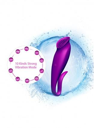 U Shape G Spot Clitoris Stimulate Vibrator Sex Toys for Adults Women